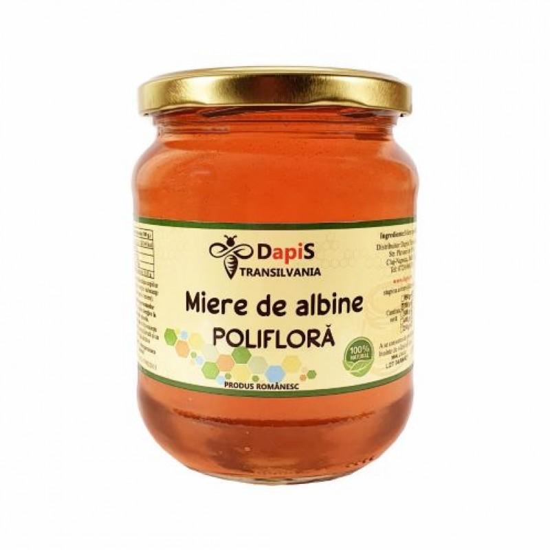 Miere de albine poliflora 700 gr.