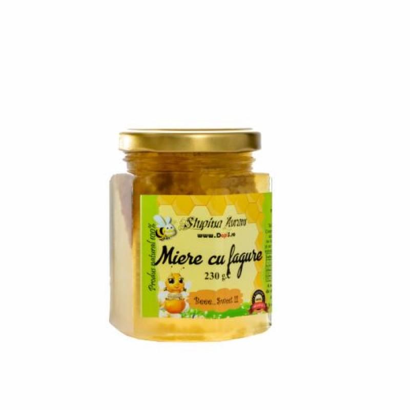 Miere cu fagure 230 gr